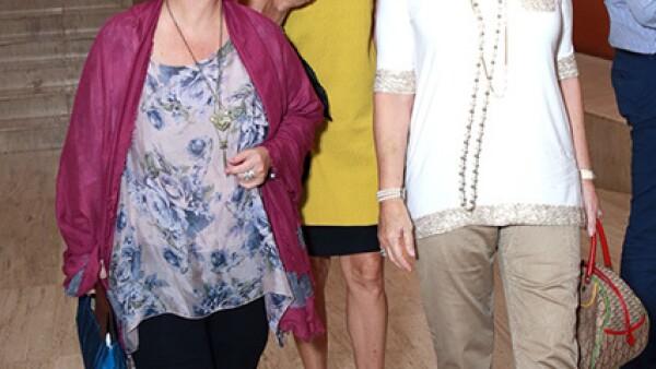 Mágala García Alanis,Alexandra Castro y Gabriela Villarreal