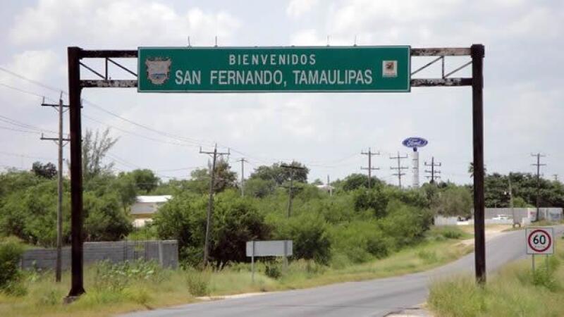 entrada a san fernando tamaulipas