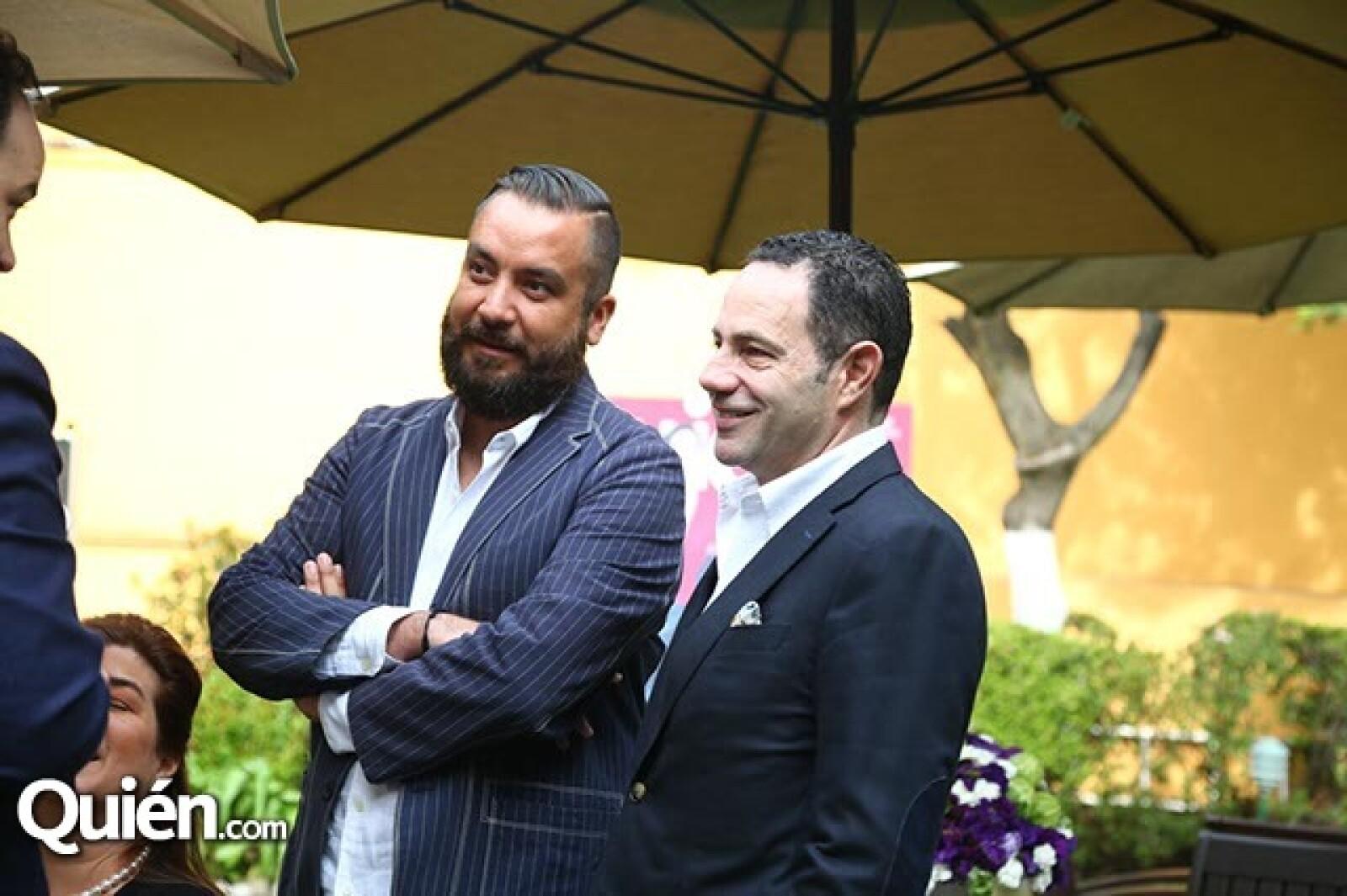 Juan Carlos Campos y Sergio Berger