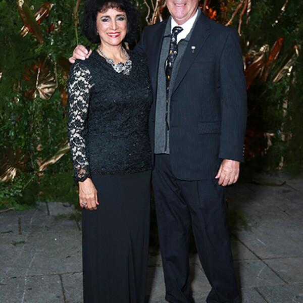 Paulina Treviño de Morales y Jaime Morales