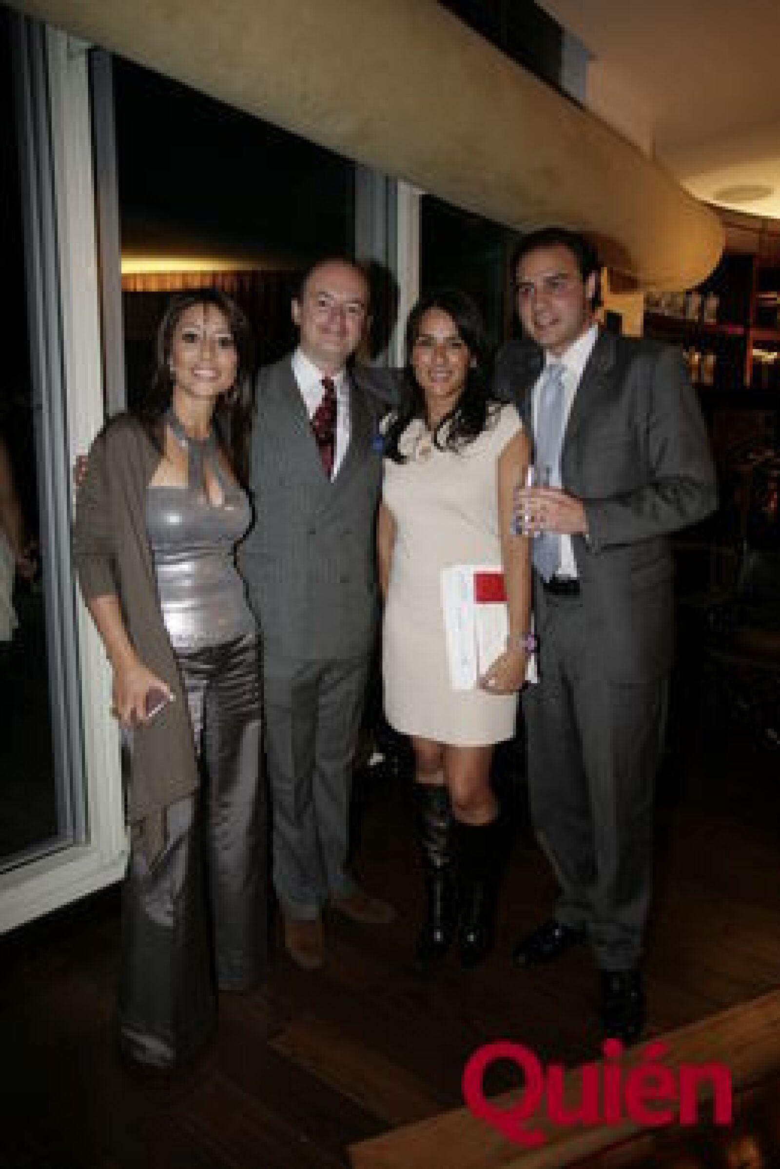 Rosario Brindis, Rodrigo López-Portillo, Ximena Iñigo, Alexandre Pochard