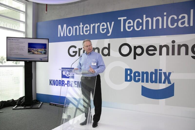 Inauguración del Centro Técnico de Bendix en Monterrey, NL