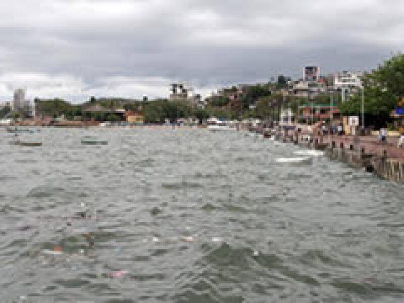 Andrés ha causado fuertes inundaciones en el Pacífico Mexicano.  (Foto: Notimex)