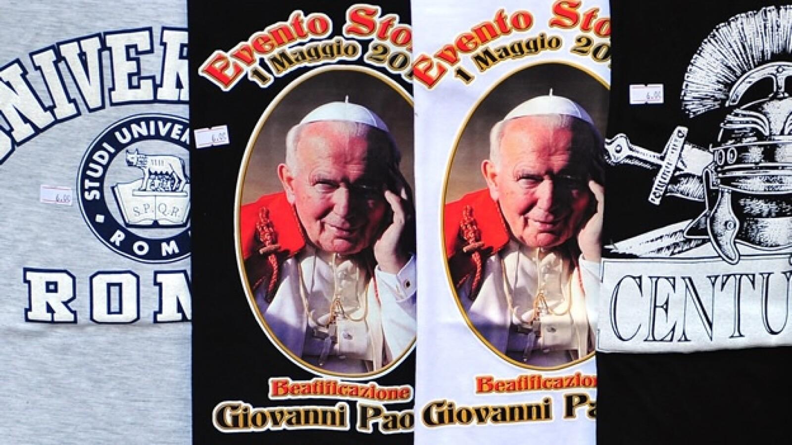 Juan Pablo II - camisetas