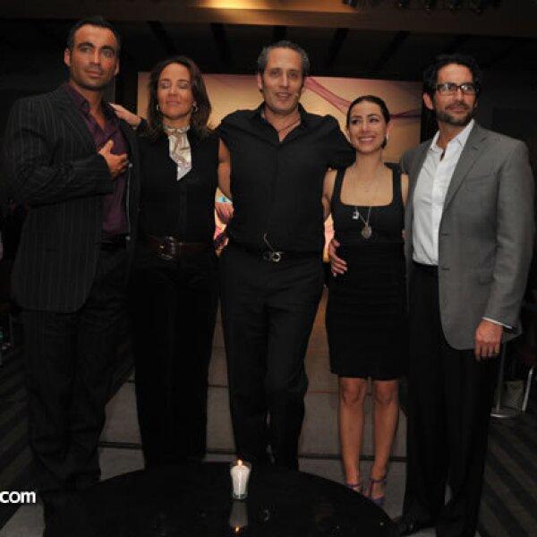 Diego Di Marco, Sabrina Herrera, Andrés Portillo, Claudia Lizaldi y Eamonn Sean Kneeland