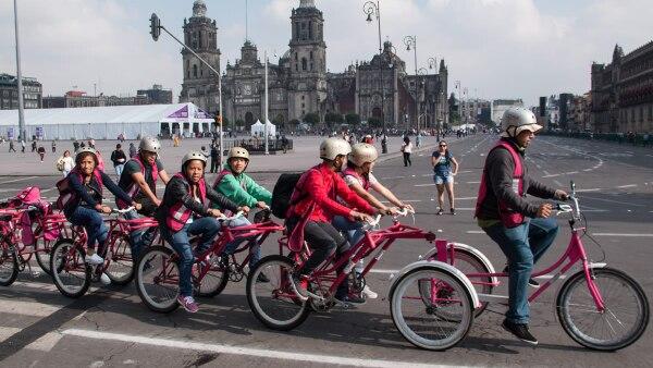 Ciclistas CDMX - infraestructura