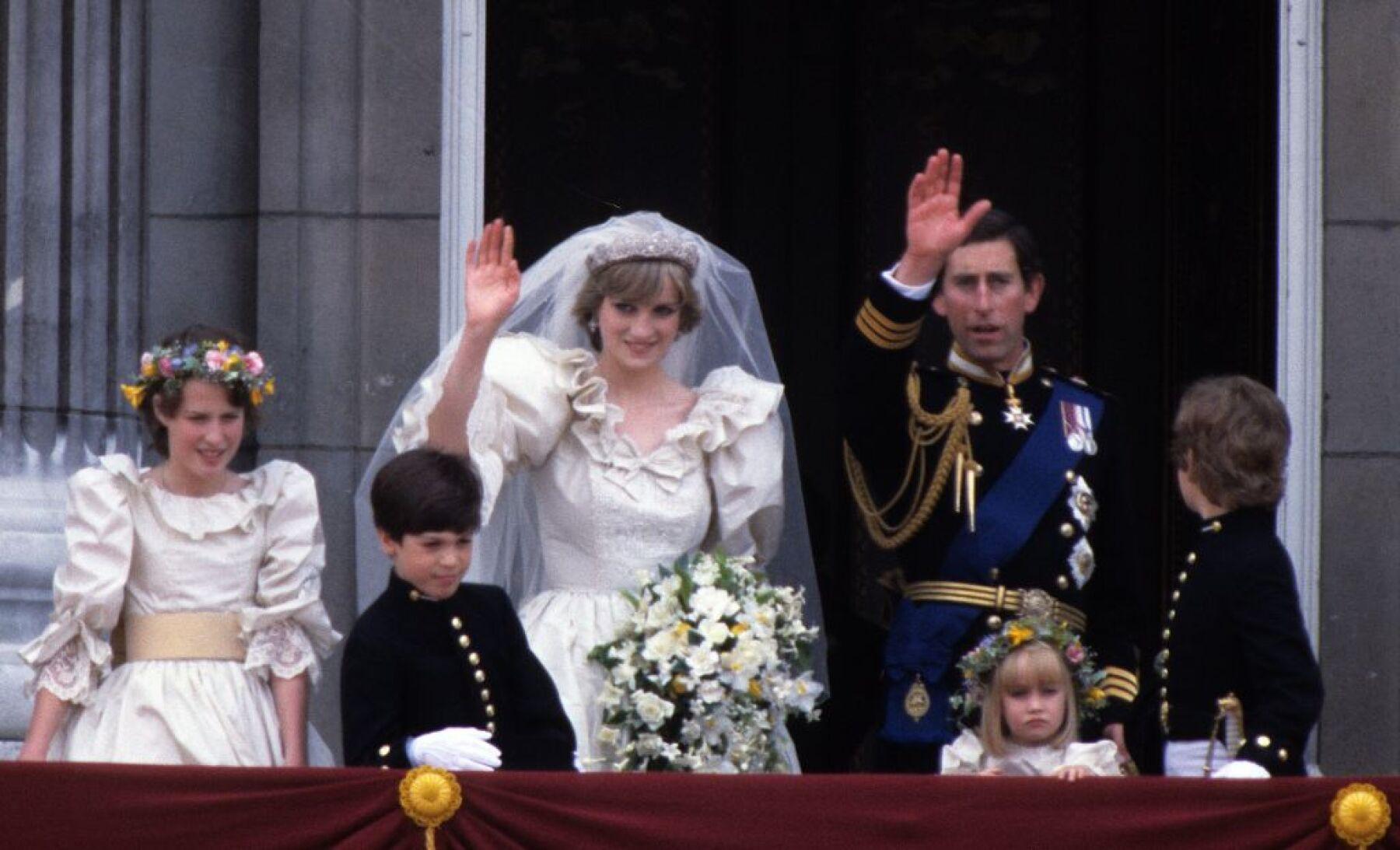 Lady Di y el príncipe Carlos