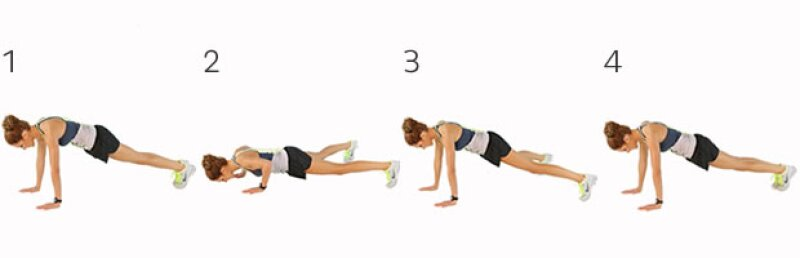 In and Out Push Ups