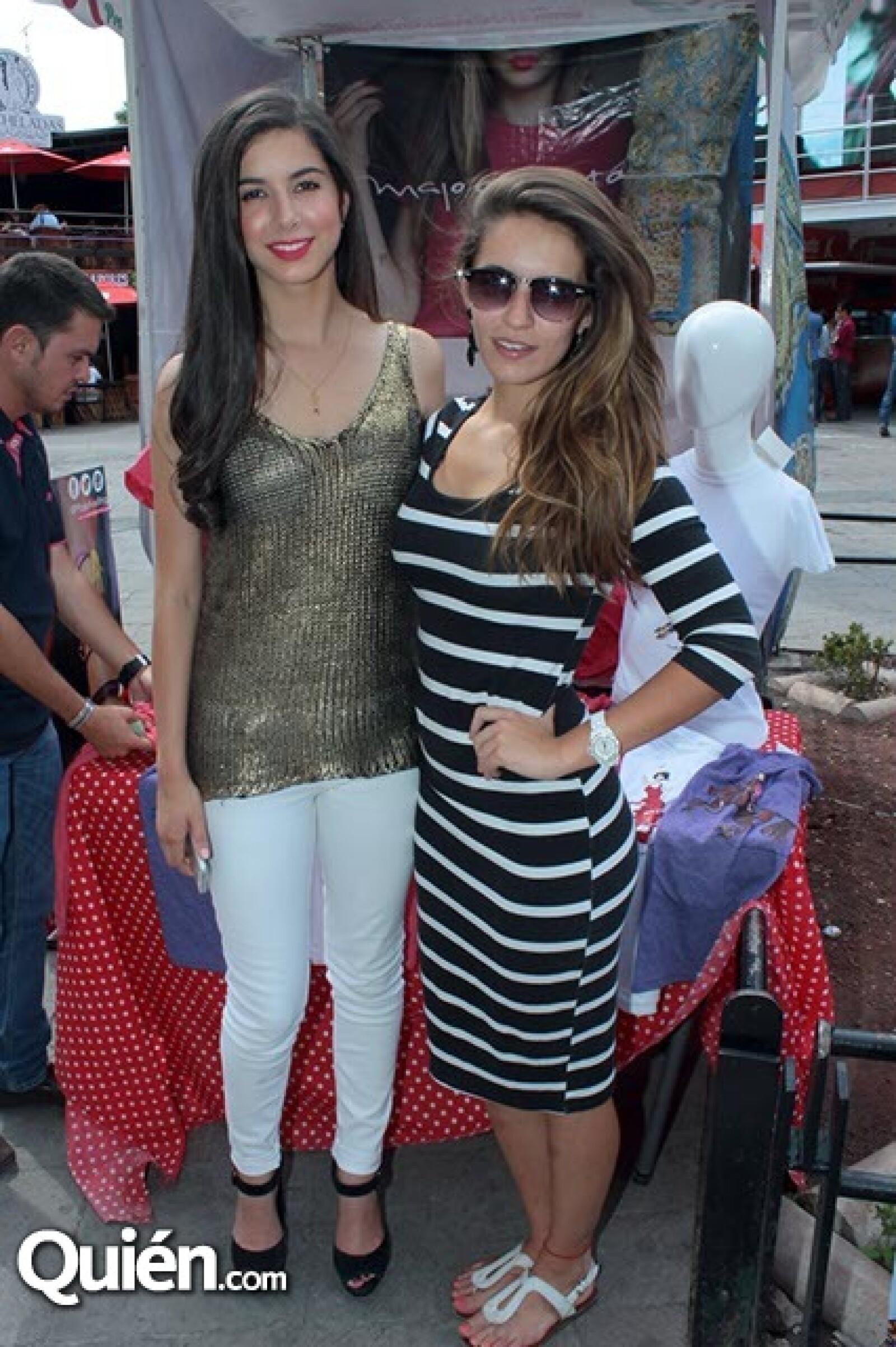 Marimar Espinosa y Victoria Reynoso
