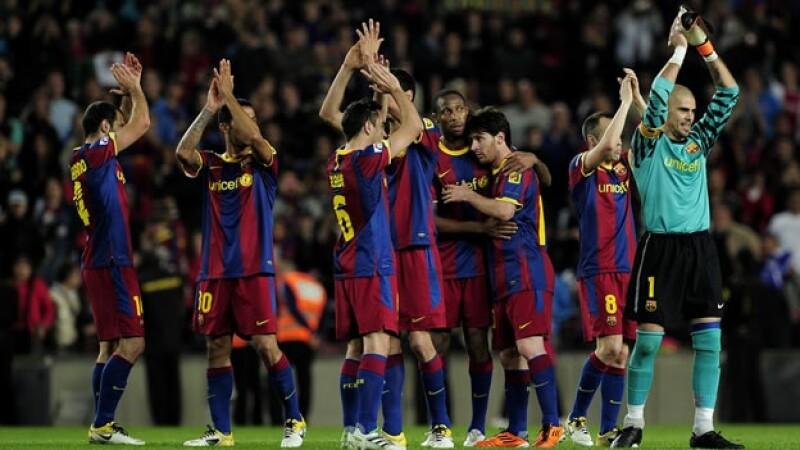 El Barcelona triunfa sobre el Osasuna