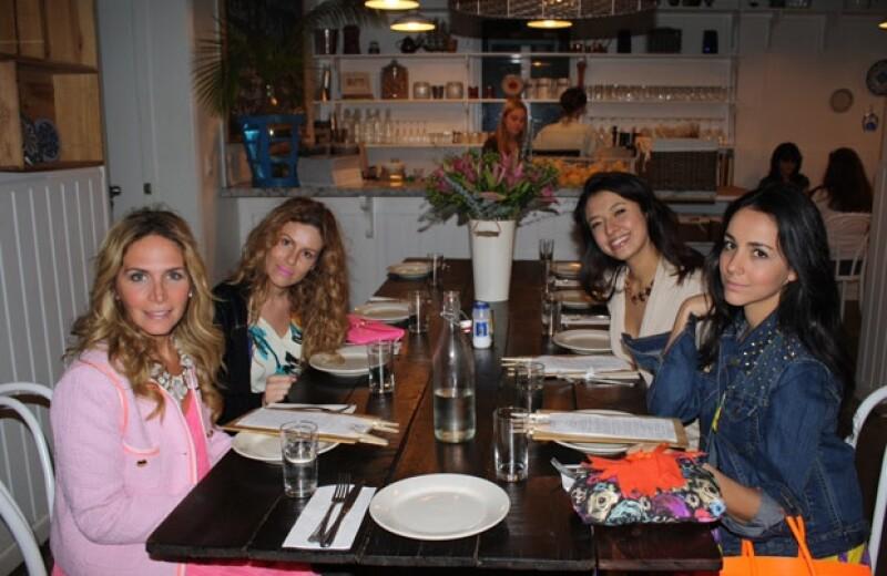 Michelle viajó en compañía de su hermana Chantal y sus amigas Janeth Gómez, Berna Pasquel y May Jones a Miami para celebrar su despedida de soltera.