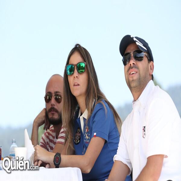 Samuel Pérez,Elizabeth Díaz,Fabián Aldama