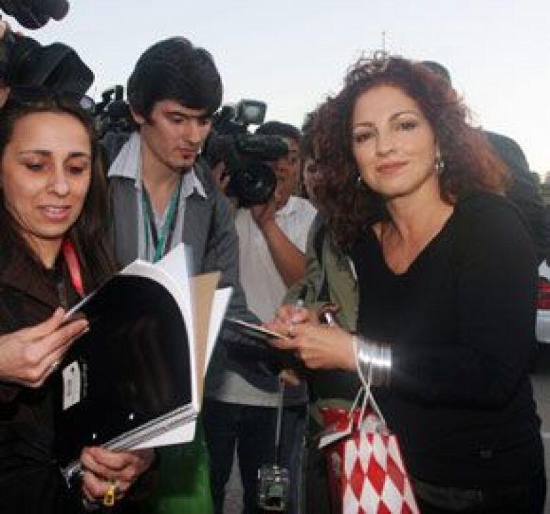 La cantante de origen cubano demostró alegría por la apertura política del presidente de Estados Unidos, Barack Obama, hacia Cuba.