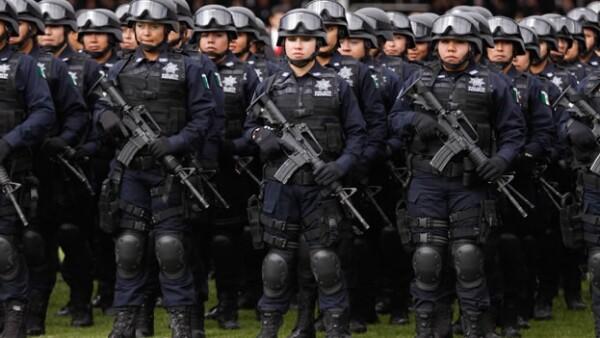 policas federales mujeres