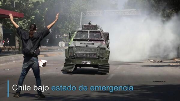 El recuento de los daños tras las protestas en Chile