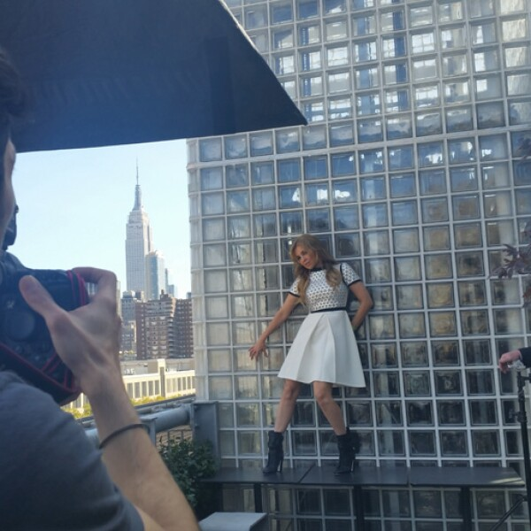 La terraza del Hotel Americano ofreció una vista espectacular del Empire State en NY.