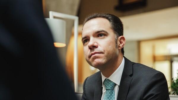 Esteban Polidura, quien es Managing Director Head of Investment Products & Solutions Coordinator del banco Julius Baer para expansion.mx y revista Expansión