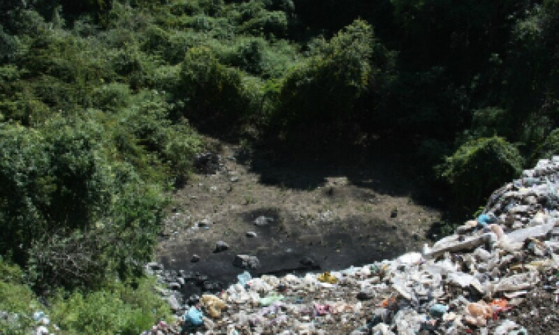 El basurero de Cocula en una imagen de archivo. (Foto: Cuartoscuro)