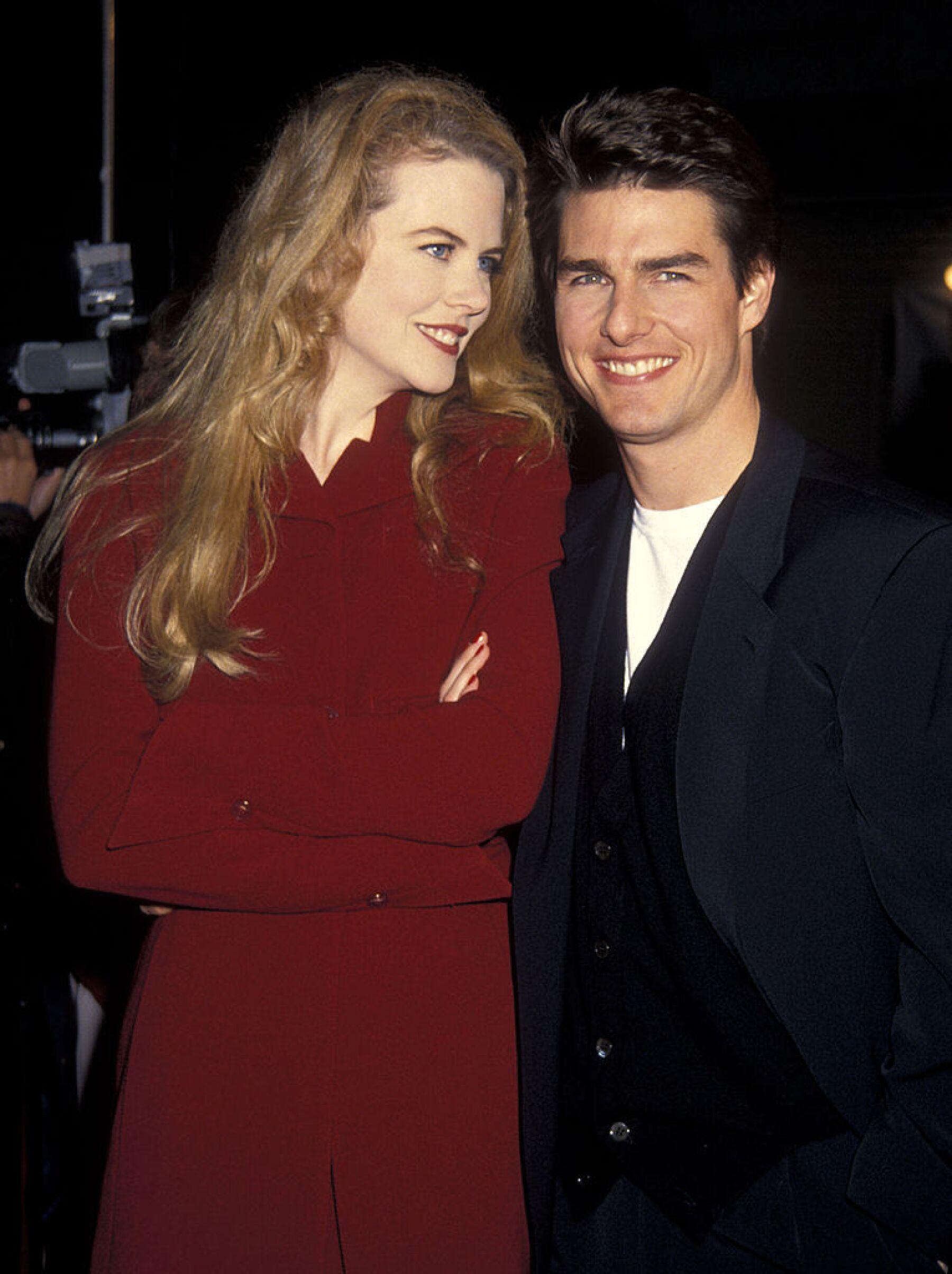 Nicole Kidman y Tom Cruise.