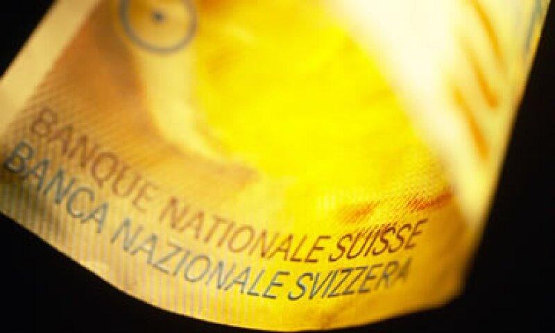 El Banco Central dijo que por el momento no existe riesgo de inflación en Suiza. (Foto: Thinkstock)
