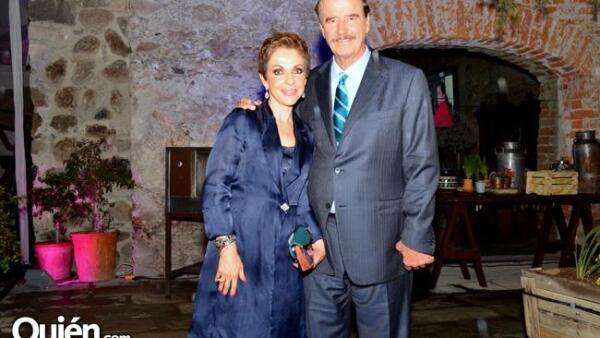 Marta Sahagún y Vicente Fox