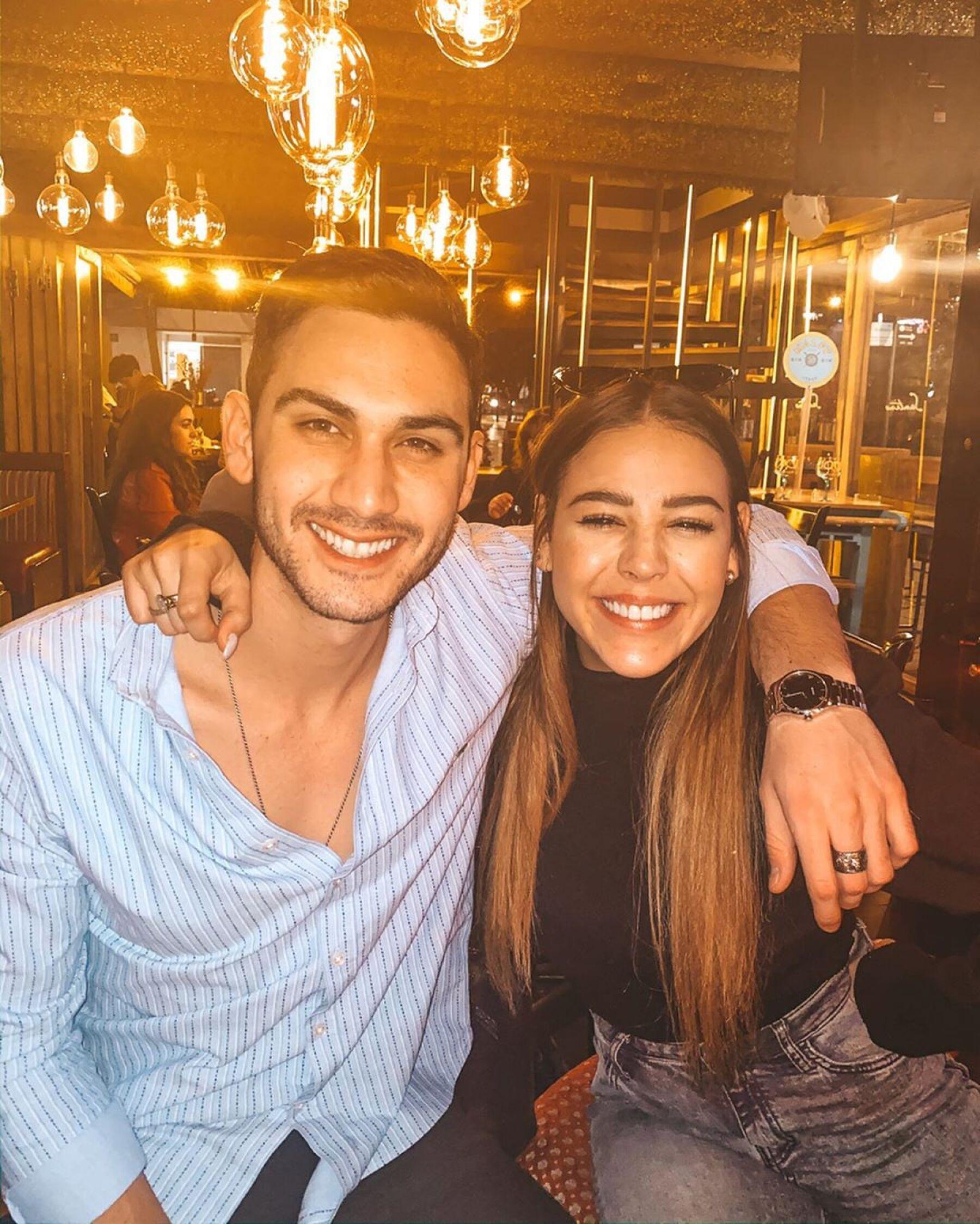 Alejandro Speitzer y Danna Paola