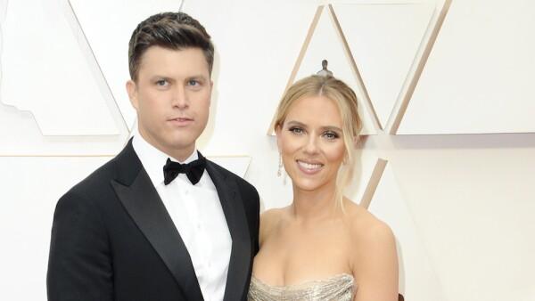 Colin Jost, Scarlett Johansson - 92nd Annual Academy Awards - Arrivals