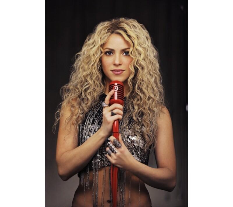 Esta imagen también será parte de la imagen del disco, en la que Shakira luce un cuerpazo.
