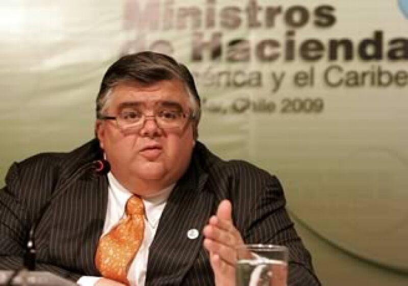 El nombramiento de Agustín Carstens para convertirse en el Gobernador del Banco de México aún debe ser aprobado por el Senado. (Foto: AP)