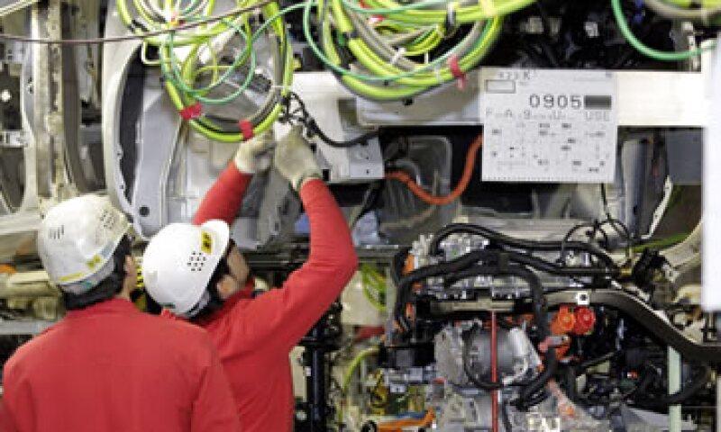 La planta de Aguascalientes hoy en día produce un vehículo cada 55 segundos, en tanto que en Morelos son 35 unidades por hora. (Foto: AP)