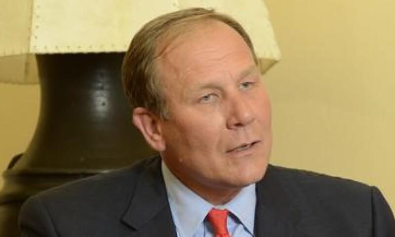 Jeff A. Jourres, presidente de Manpower, fue nombrado cuatro veces como el mejor CEO de Estados Unidos. (Foto: Ramón Sánchez Belmont)