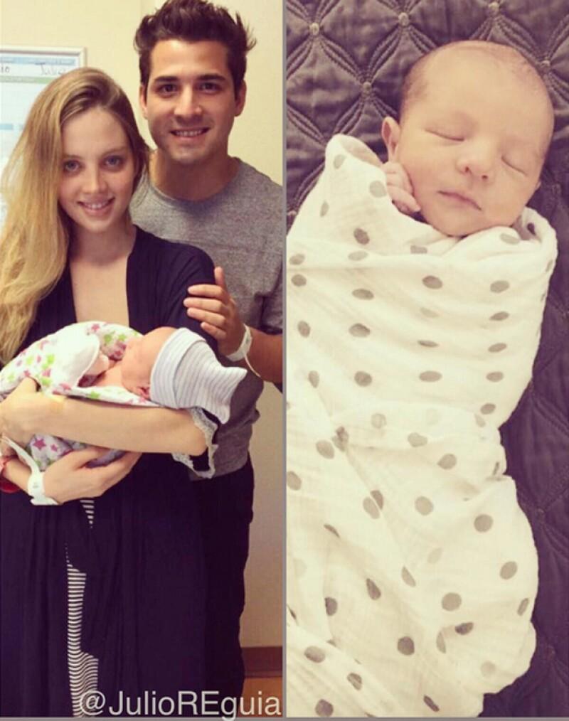 El guitarrista compartió en Instagram la feliz noticia junto a un par de fotografías del nuevo integrante de la familia.