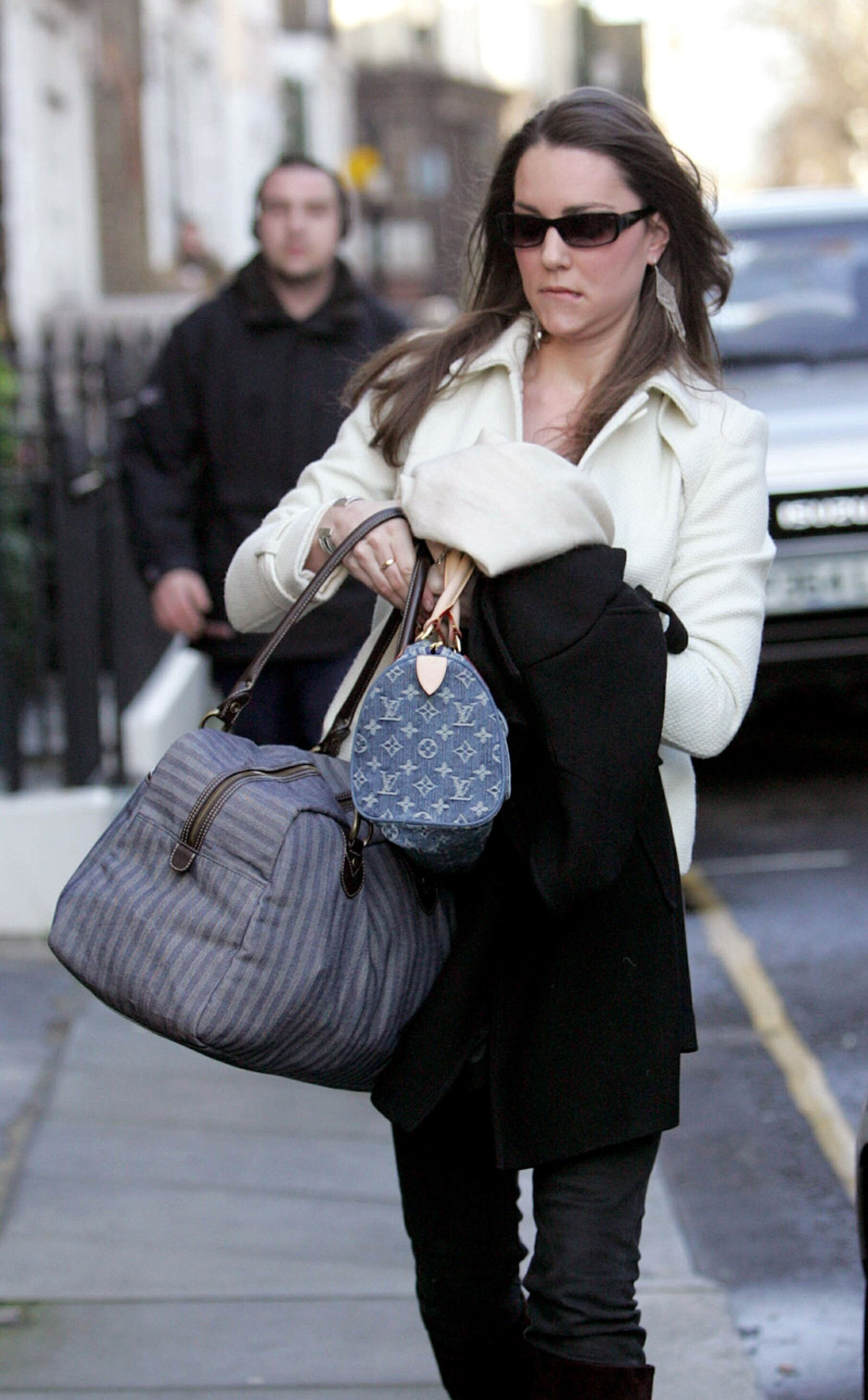 Kate Middleton leaving her Chelsea home in the morning, London, Britain - 01 Mar 2007