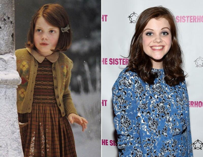 Georgie ha crecido mucho y sigue enfocada en la actuación.