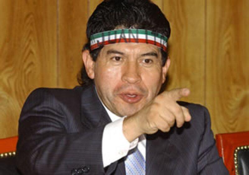 Rafael Acosta se rehúsa a ceder su victoria electoral en la delegación Iztapalapa. (Foto: Notimex)