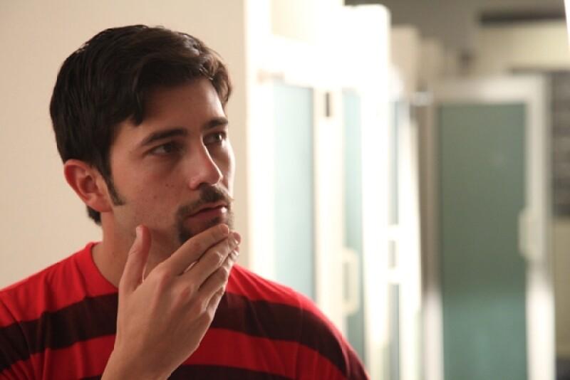 El actor explicó de qué va la serie que está grabando en Monterrey.