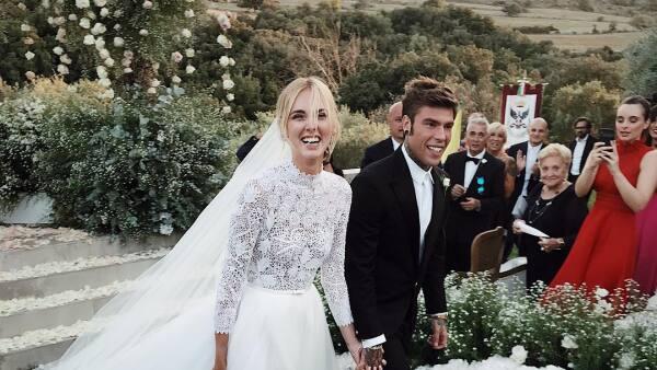 Chiara Ferragni y Fedez por fin se dan el 'sí' en el altar