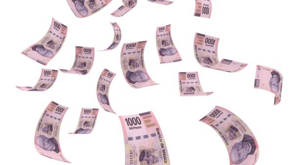 Mexican money peso falling finance crisis
