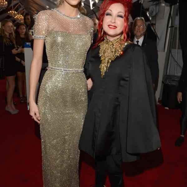 Taylor Swift y Cyndi Lauper.
