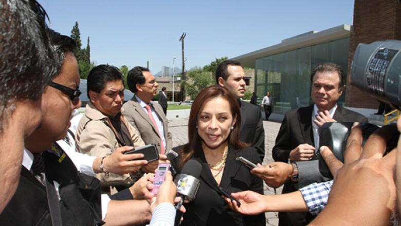 Josefina Vázquez Mota fue de los blanquiazules que acudieron a la ceremonia.