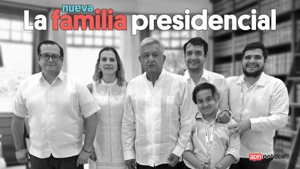La nueva familia presidencial