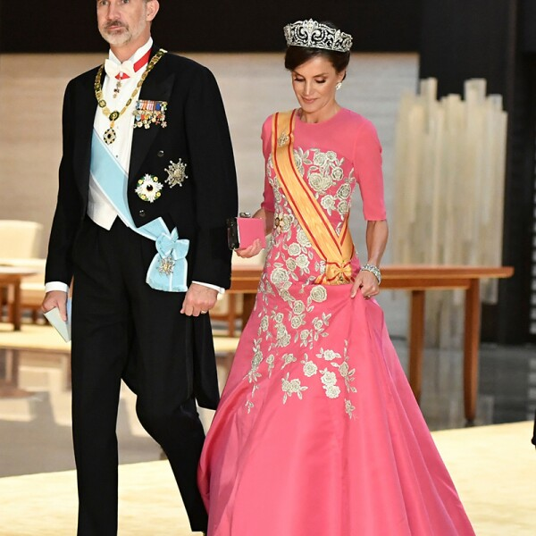 Imperial State Banquet, Tokyo, Japan - 22 Oct 2019