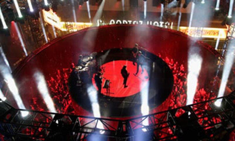 El escenario representa el logo de Target. (Foto: Getty Images)