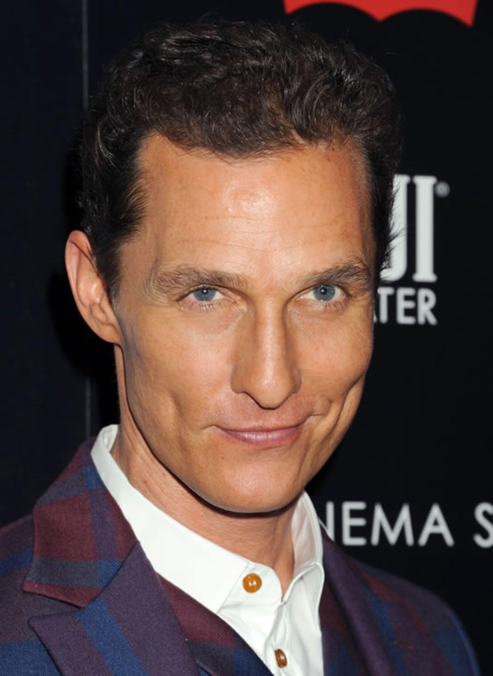 Matthew McConaughey, muy `ad hoc´con su actuación en `El defensor´estudió Derecho antes de ser actor.