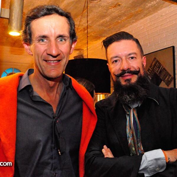 Víctor Legorreta y Juan Carlos Baumgartner