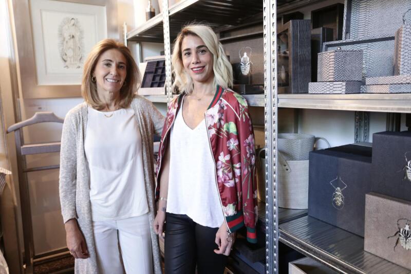Mónica Palazuelos y Mónica Zepeda