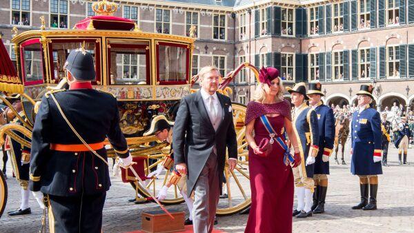 Rey Guillermo Alejandro y M´áxima de Holanda