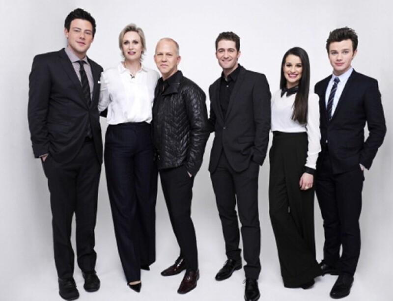 Todos los miembros de la producción estuvieron en el homenaje, incluyendo a los protagonistas de la serie como Jane Lynch, Matthew Morrison, Lea Michele y Chris Colfer.
