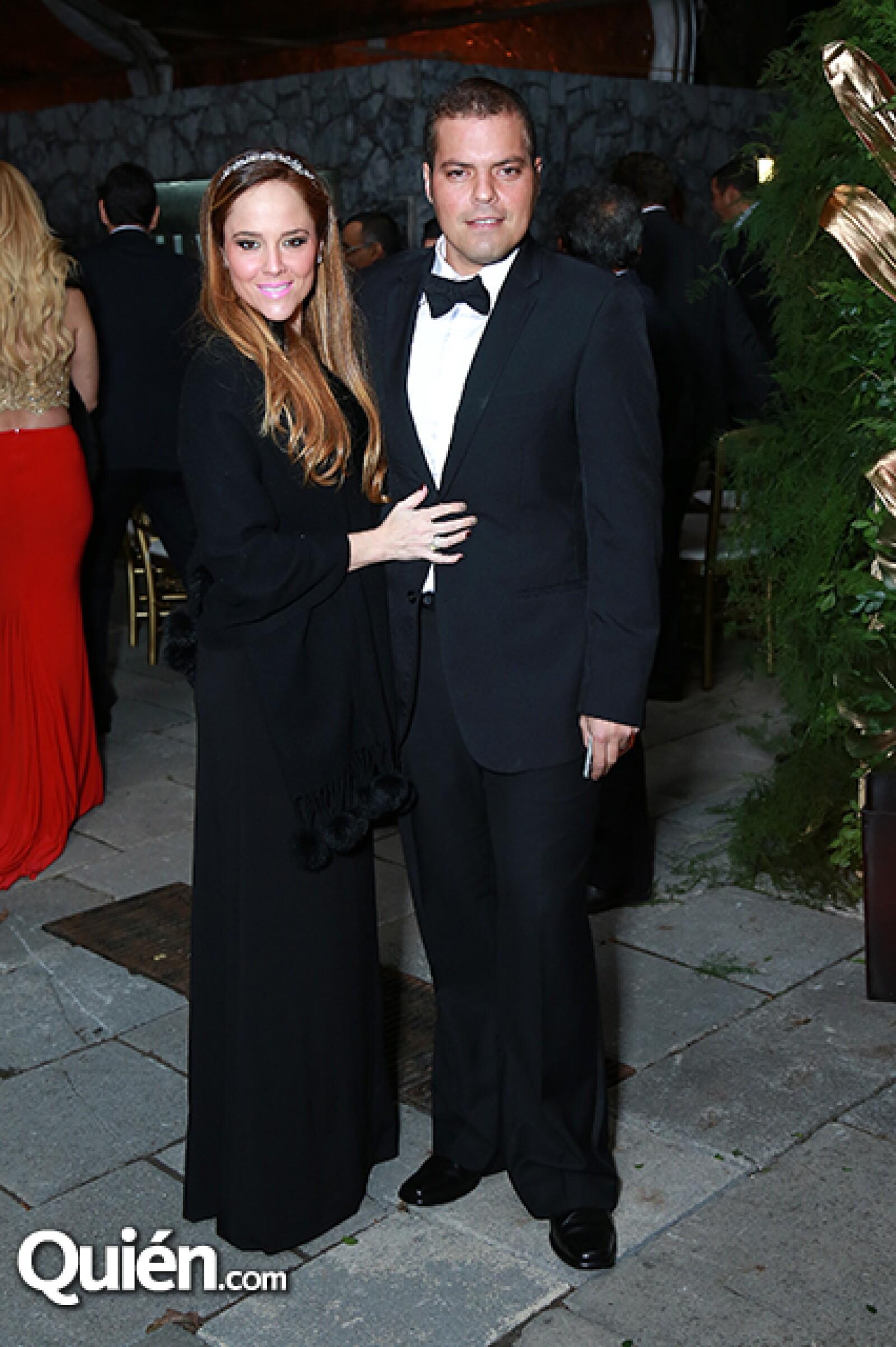 Linda Treviño de Villarreal y Alberto Villarreal