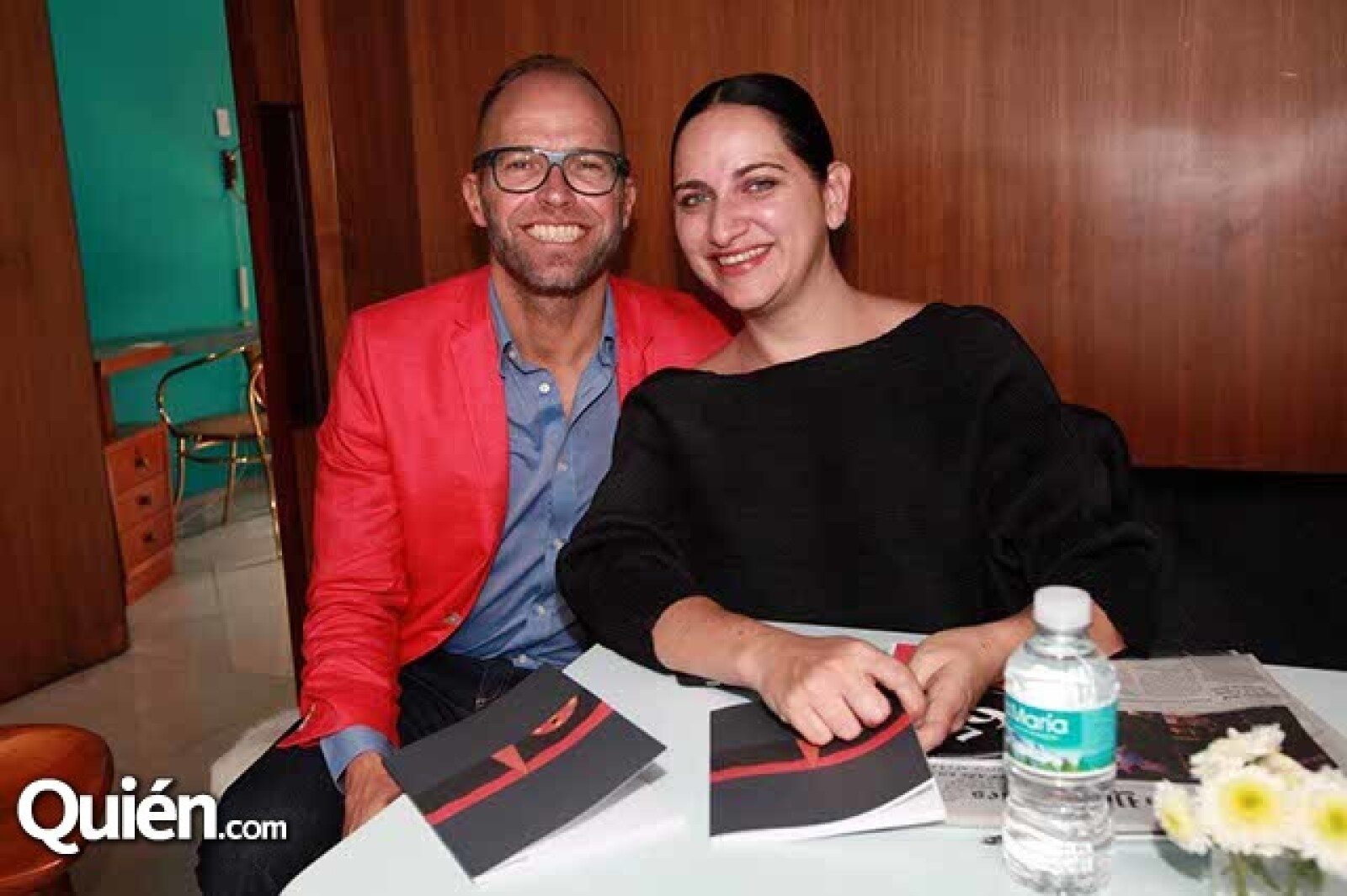 Marc Giard y Bertha Angulo